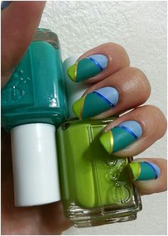 Essie summer 2013: The more the merrier. Naughty nautical.  Rock the boat.