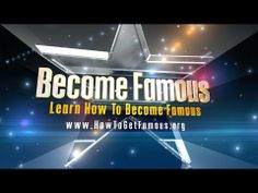 How to become famous - step by step  http://www.howtogetfamous.org Step by Step How To Become Famous. Why anyone can easily become famous The social media craze that continues to grow every seco...