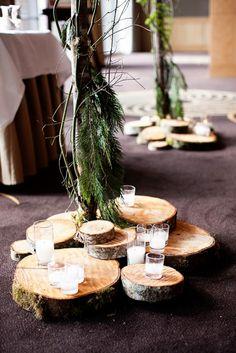 Elegant & Formal Seattle Wedding from GH Kim Photography - rustic indoor wedding ceremony idea