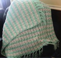 * * * Crafting Friends * * * : Brick Stitch Afghan Pattern - with tutorial