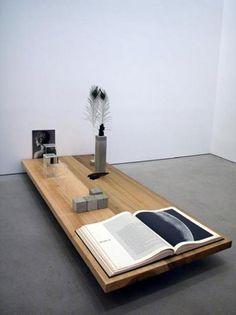 Carol Bove: Driscoll Garden: Installation 105 X 197 X 81.5