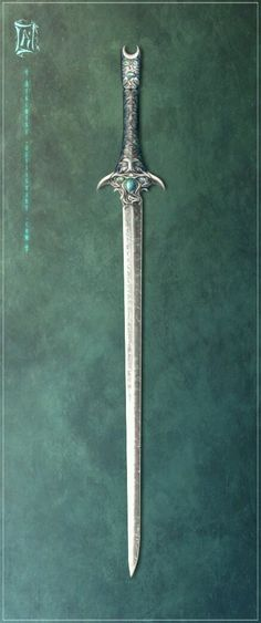 Concept art of Arden Wraithbane& third blade, Ardemus. It is unknown how or when Arden first acquired his third blade, Ardemus. Despite this, anyone who has seen it are forewarned that is not. Fantasy Blade, Fantasy Sword, Fantasy Weapons, Fantasy Art, Swords And Daggers, Knives And Swords, Armas Ninja, Anime Weapons, Zombie Weapons