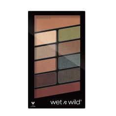 Wet n Wild Color Icon Eyeshadow 10 Pan Palette - Comfort Zone: Buy Wet n Wild Color Icon Eyeshadow 10 Pan Palette - Comfort Zone Online at Best Price in India | Nykaa Wet N Wild Eyeshadow, Liquid Eyeshadow, Eye Palette, Eyeshadow Palette, Eyeshadows, Wet N Wild Palette, Wet N Wild Beauty, Pencil Eyeliner, Colorful Eyeshadow
