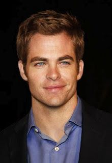 Chris Pine: he's in the new star trek movie!
