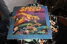 Various Speed Metal LP Metal Blade Records slayer hallows eve omen sodom others
