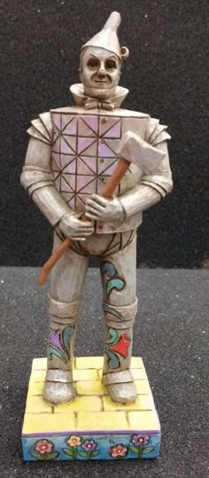 JIm Shore WIzard of Oz Tin Man Figurine - http://collectiblefigurines.net/jim-shore/wizard-of-oz/jim-shore-wizard-of-oz-tin-man-figurine/