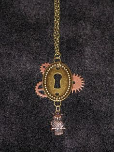 Steampunk / Fantasy / Fairytale Necklace Jewelry for Sale on Etsy - http://www.etsy.com/shop/PhoenixEchoCreations?ref=si_shop