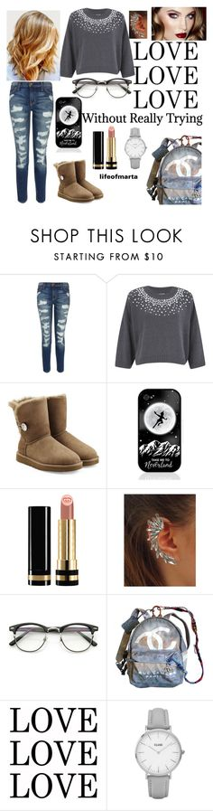 """Random"" by lifeofmarta ❤ liked on Polyvore featuring Current/Elliott, MICHAEL Michael Kors, UGG Australia, Samsung, Gucci, Chanel and Topshop"