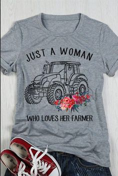 JUST A WOMAN WHO LOVER HER FARMER! That's me!