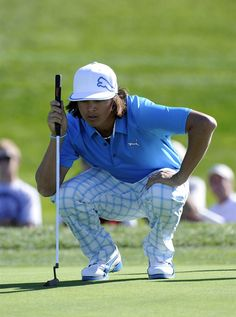 Rickie Fowler light blue