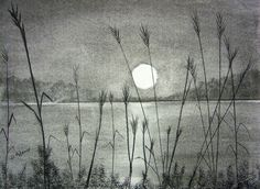 pencil drawings of the sunset - Google Search