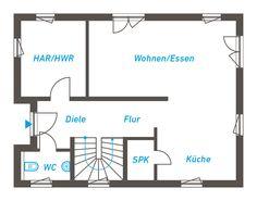 Im Dividuus 133 vereinen sich zeitgenössischer Stil und optimaler Wohnkomfort. Der weitläufige Wohn- und Essbereich mit offener Küche, die zwei großzügigen Kinderzimmer und ein Elternschlafzimmer mit großer Ankleide oder abgetrenntem Arbeitsbereich bieten viele Gestaltungsmöglichkeiten. Das geteilte Pultdach setzt außergewöhnliche Akzente.