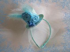 Нежная шляпка для юной модницы.Крученая роза.DIY.Tutorial