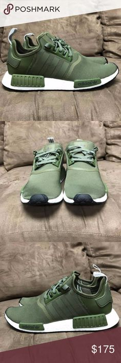 bde9e7f703 Adidas NMD Forest Green 100% Authentic and they come with receipt! Super  limited!