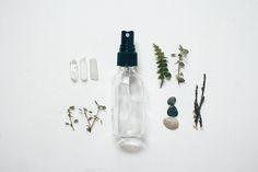 #pp #DIY Hair Perfume 2-oz glass atomizer bottle  1.75 oz filtered water  1 teaspoon aloe vera gel or jojoba oil  15+ drops essential oil blend