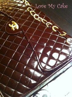 Chanel Purse Cake ~ SweetsByTammy.com