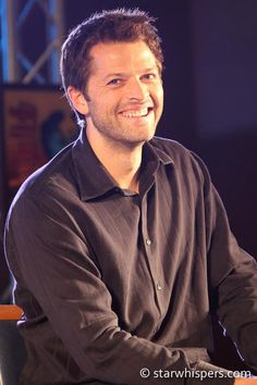 Misha Collins, your smile can light up the world ♥