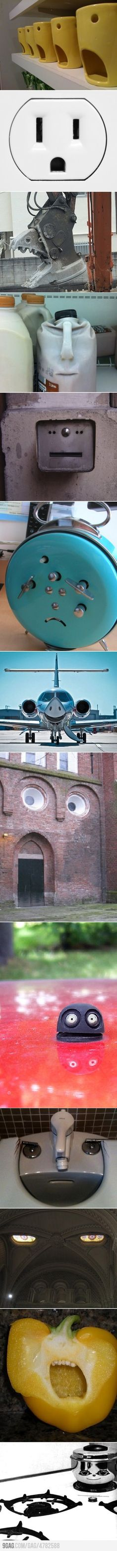 Pareidolia is a psychological phenomenon where vague and random stimulus seems significant.   You're not seeing faces everywhere are you?