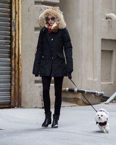 The Boots Olivia Palermo Has Worn Every Winter Since 2014 Olivia Palermo Outfit, Olivia Palermo Lookbook, Olivia Palermo Style, Parka Outfit, Timberland, Outfit Invierno, Winter Looks, Winter Style, Swagg