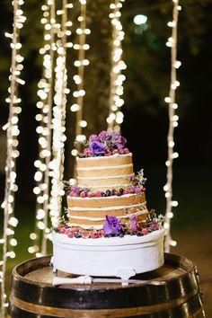 An Outdoor Fusion Wedding With Hanging Lights & Dreamcatchers: Piere & Merve Outdoor Wedding Reception, Rustic Wedding, Unique Weddings, Real Weddings, Flower Decorations, Wedding Decorations, Wedding Cakes With Flowers, Cake Flowers, Creative Wedding Cakes
