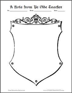 coat of arms worksheet pdf