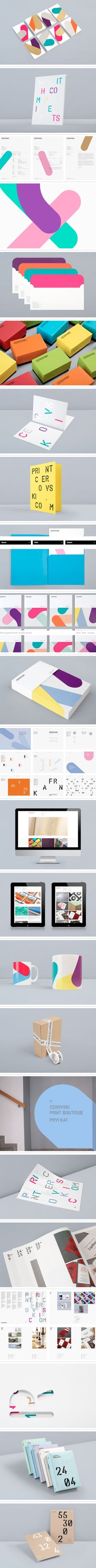 Cerovski, a young Croatian print production studio | Design by BUNCH