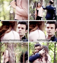 The Originals-They are so cute together!