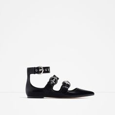 ZARA - WOMAN - FLAT STRAPPY SHOES