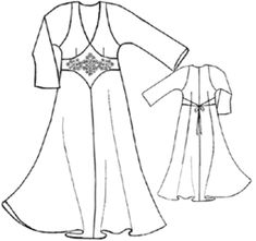 example - #5261 Silk Night Gown