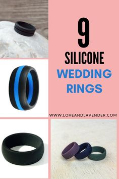They're so practical, a lot of guys (and women) are asking why the heck silicone rings weren't on the scene sooner? These durable rings are becoming especially popular among men who play sports or whose jobs are particularly unforgiving to wedding bands. This is why we put together a short guide to Silicone Wedding Rings. Pin this now! #rings #weddingrings #siliconerings #mensrings #engagementrings