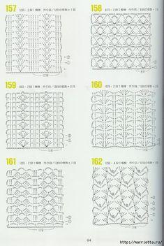 262 узора крючком. Японская книжка со схемами (59) (468x700, 249Kb)