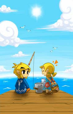 Link... Reminds me of Kirito and his cousin...