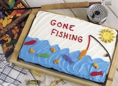 "Chocolate ""Gone Fishing"" Cake Recipe"
