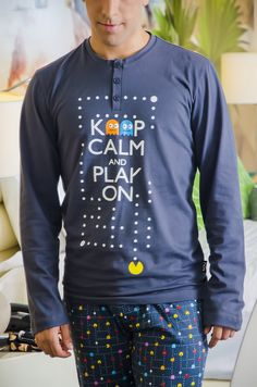 Keep calm and play on #soyhomewear #pijama #comfy