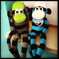 Scrappy Ideas: Sock Monkeys (2)