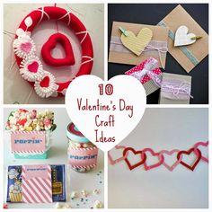 10 valentine's day craft ideas