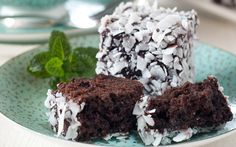 Golden Cloud CHOC MINT LAMINGTONS