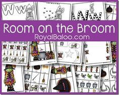 Free Room on the Broom Tot and PreK Packs