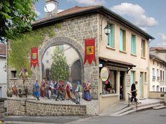 Por Dentro... em Rosa: Artista transforma fachadas de prédios em obras de...