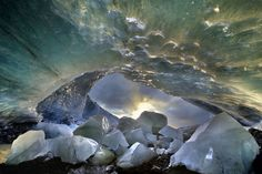 Crystal Cave, Iceland   96 Breathtaking Photos That Prove Earth Is The Best Planet In The Whole Galaxy