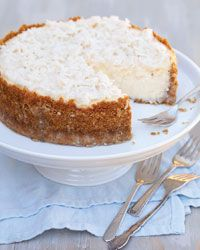 Coconut Cake Cheesecake.  Two favorite desserts combined!