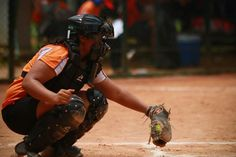 Catcher; the heart of the game.