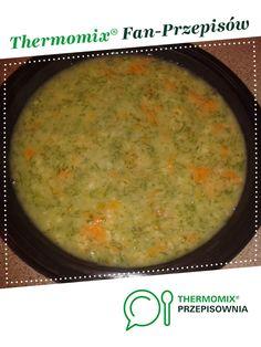 ZUPA KOPERKOWA Z RYŻEM jest to przepis stworzony przez użytkownika monika6500. Ten przepis na Thermomix® znajdziesz w kategorii Zupy na www.przepisownia.pl, społeczności Thermomix®.