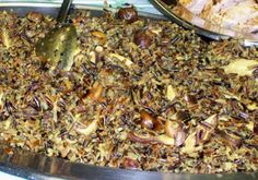 Wild Rice with Mushrooms and Chestnuts Recipe
