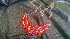 Badi / soutache náhrdelník Brooch, Jewelry, Fashion, Moda, Jewlery, Jewerly, Fashion Styles, Brooches, Schmuck