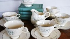any tea cups and tea pots always welcome additions to the collection...