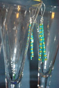 Green and Blue, catch the light! $5