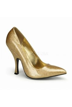 Bombshell #4.5inch #heel #classic #pump #glitter #shoe