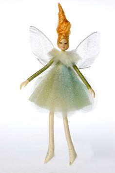 Bendable Petal Fairies Winter Fairy Moss Green
