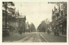 1947. Van Baerlestraat with Concertgebouw in Amsterdam. #amsterdam #1947 #VanBaerlestraat